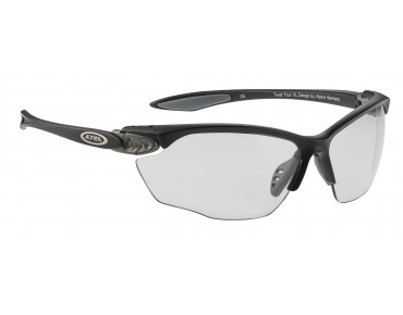 ALPINA TWIST FOUR VL+ sports glasses black-grey matt/varioflex+ black