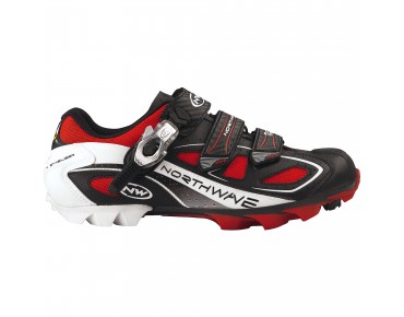 NORTHWAVE MTB-Schuhe REBEL S.B.S. black/red/white