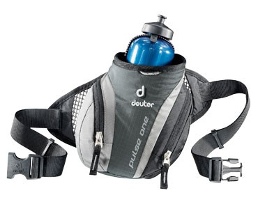 deuter PULSE ONE hip bag granite/black