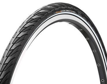 Continental Contact II Reflex tyre black/reflex