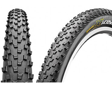 Continental X-King Performance MTB tyre, folding tyre black/black