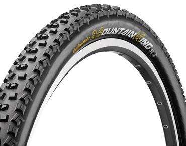 Continental Mountain King II MTB tyre, clincher tyre black/black