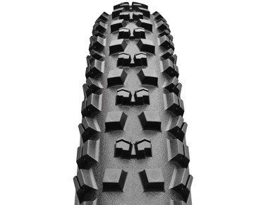 Continental Mountain King II MTB tyre, folding tyre black/black