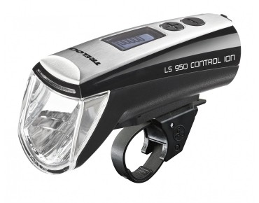 Trelock LS 950 Ecopower Control Ion headlight black