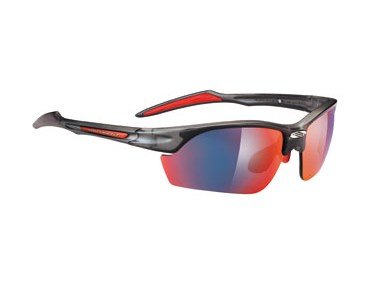 RUDY PROJECT Sportbrille SWIFTY frozen ash/multilaser red
