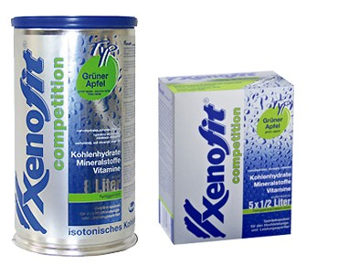 Xenofit Xenofit® competition drink powder Grüner Apfel