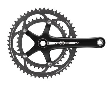 Campagnolo Veloce Power Torque - guarnitura schwarz