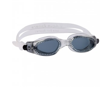 Aqua Sphere Kaiman small goggles transparent/graue Scheibe