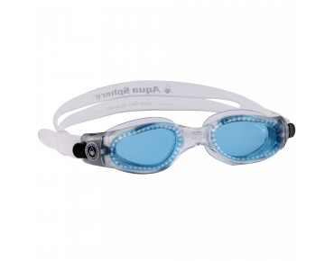 Aqua Sphere Kaiman small goggles transparent/blaue Scheibe
