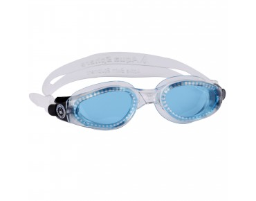 Aqua Sphere Kaiman swimming goggles transparent/blaue Scheibe