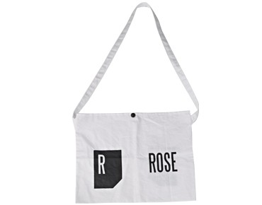ROSE provision bag weiß