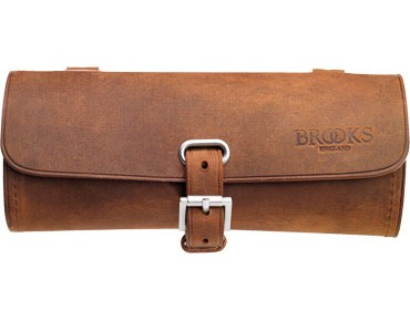 Brooks saddle bag aged