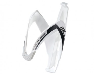 Elite Custom Race bottle cage white/black