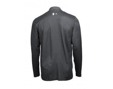ROSE Polo Shirt Langarm graphite