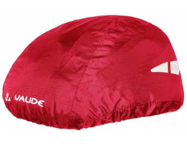VAUDE HELMET RAINCOVER red