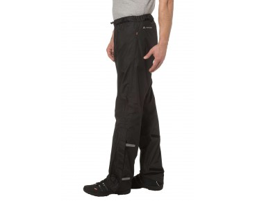VAUDE FLUID II waterproof trousers black