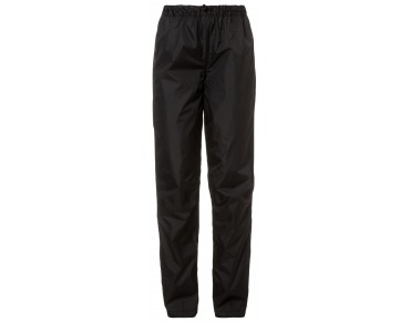VAUDE FLUID waterproof trousers for women black