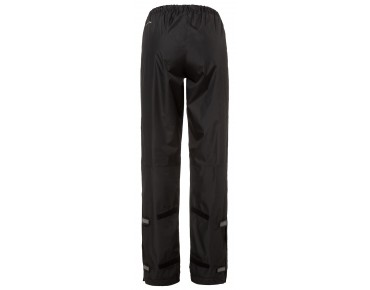 VAUDE FLUID PANTS damesregenbroek black