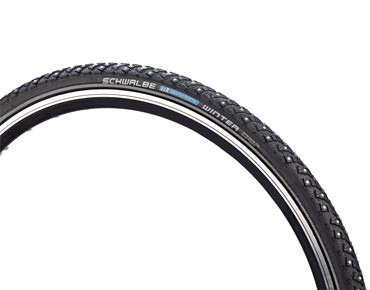 Schwalbe MARATHON WINTER spike tyre black