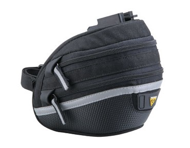 Topeak Medium Wedge Pack II Expando saddle bag black