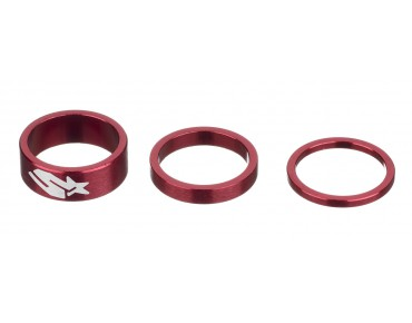 Spank Tweet Tweet Tri Spacer kit red