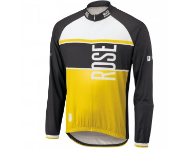 ROSE LINIE 11 long-sleeved jersey black/yellow
