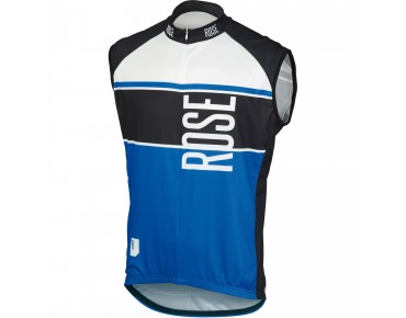 ROSE Trikot LINIE 11 ärmellos black/blue