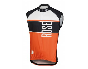 ROSE Trikot LINIE 11 ärmellos black/orange