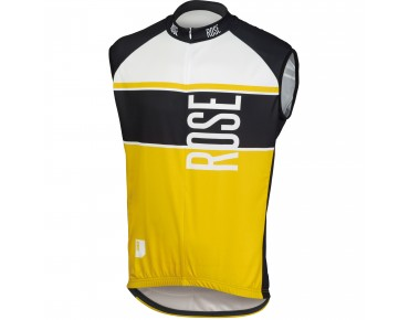 ROSE Trikot LINIE 11 ärmellos black/yellow