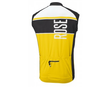 ROSE LINIE 11 sleeveless jersey black/yellow