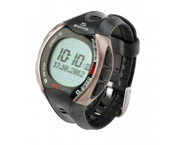 Sigma RC 1209 heart rate/running watch grau