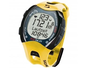 Sigma RC 14.11 heart rate/running watch yellow