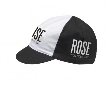 ROSE racing cap black/white