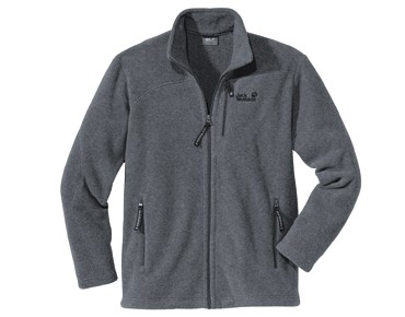 Jack Wolfskin Fleece jacket KLONDIKE grey heather