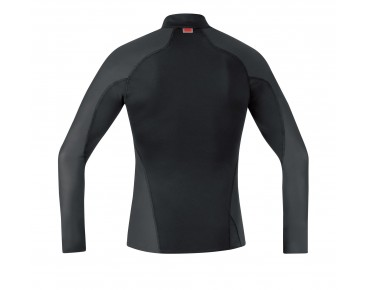GORE BIKE WEAR TURTLENECK WINDSTOPPER  - maglia intima maniche lunghe termica black