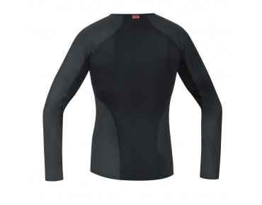 GORE BIKE WEAR BASE LAYER WINDSTOPPER shirt with long sleeves black