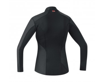 GORE BIKE WEAR BASE LAYER WINDSTOPPER turtleneck for women black