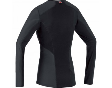 GORE BIKE WEAR WINDSTOPPER thermal long-sleeved undershirt for women black