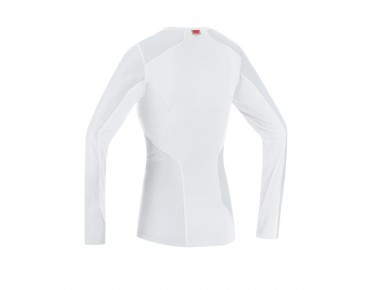 GORE BIKE WEAR WINDSTOPPER thermal long-sleeved undershirt for women white