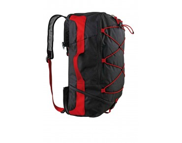 VAUDE KARAKORUM panniers black/red