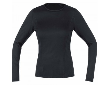 GORE BIKE WEAR BASE LAYER LADY long-sleeved thermal shirt black