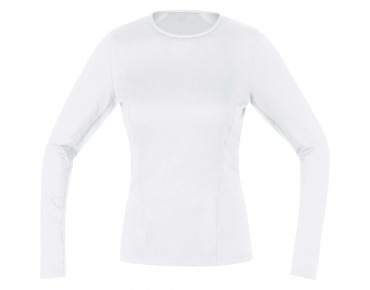 GORE BIKE WEAR Thermal long-sleeved undershirt for women white