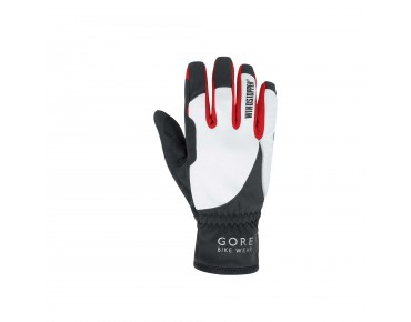 GORE BIKE WEAR POWER WINDSTOPPER SOFT SHELL women's gloves black-white