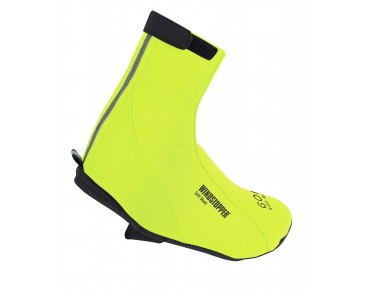 ROAD THERMO WINDSTOPPER SOFT SHELL overshoes neon yellow