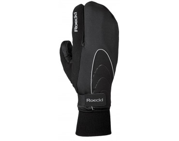 ROECKL WINDSTOPPER Winter Handschuhe VACHA LOBSTER schwarz