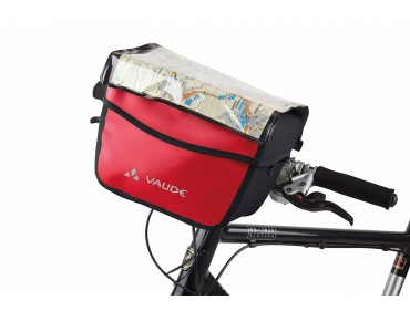 VAUDE AQUA BOX Lenkertasche red/black