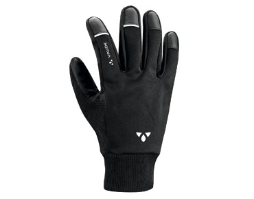 VAUDE Winter Handschuhe HANKO Soft Shell black