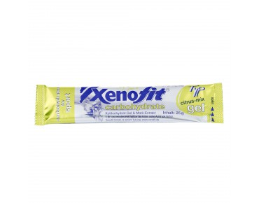 Xenofit carbohydrate gel citrus mix