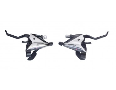 SHIMANO ST-EF65 brake/shift lever combination silver