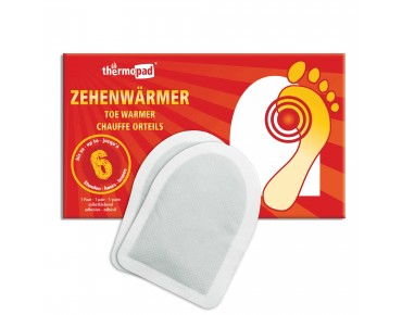 thermopad toe warmers, 1 pair weiß